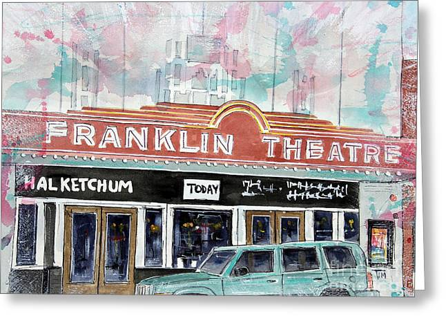 Forever Franklin Greeting Card by Tim Ross