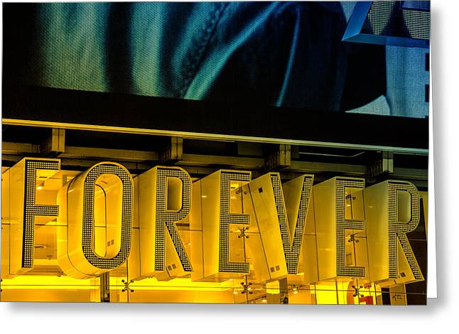 Forever Greeting Card by Karol Livote