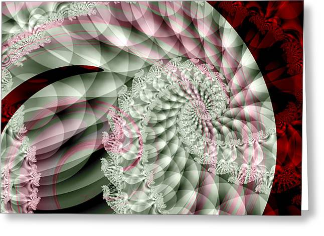 Forever Spiral Greeting Card
