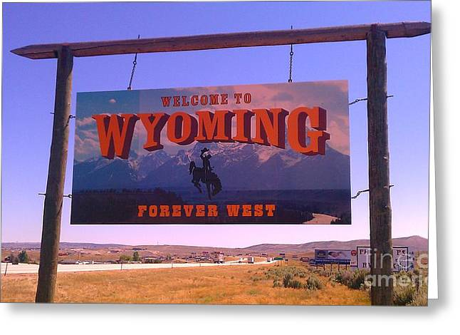 Forever West Greeting Card