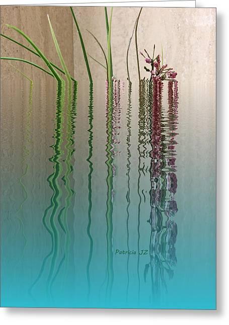 Forgive Reality Greeting Card by Patricia Januszkiewicz