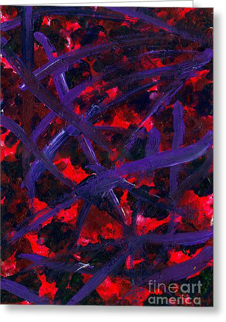 Forgiven Scars Greeting Card by Edward Fuller