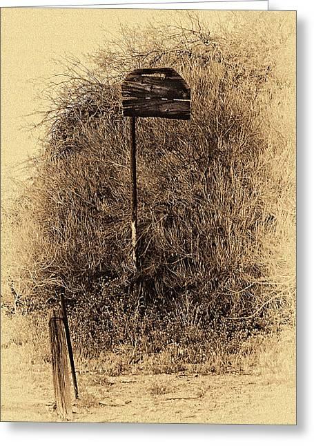 Forgotten Backboard Greeting Card by Ron Regalado