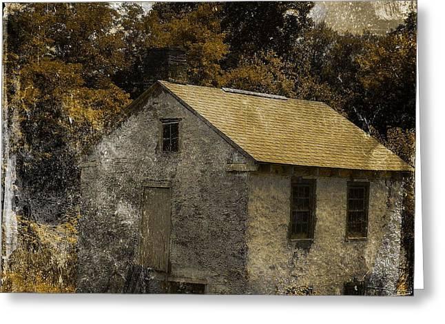 Forgotten Barn Greeting Card by Marcia Lee Jones