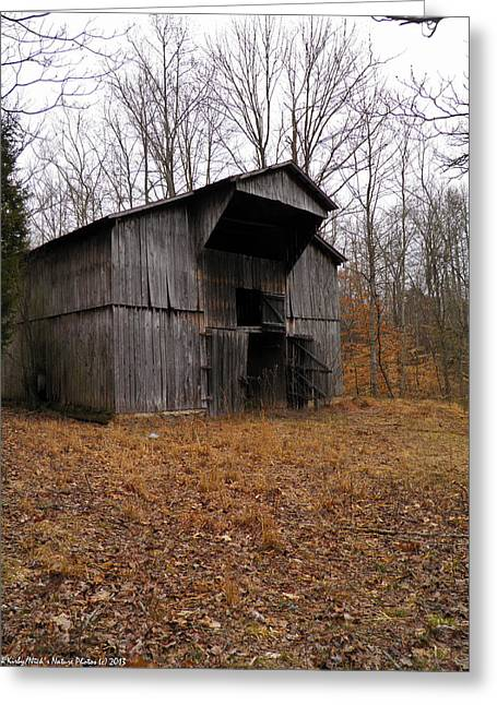 Greeting Card featuring the photograph Forgotten Barn by Nick Kirby