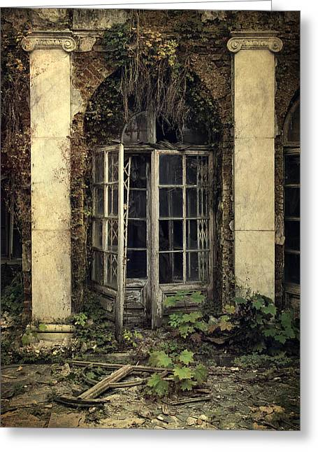 Forgotten Chamber Greeting Card by Jaroslaw Blaminsky