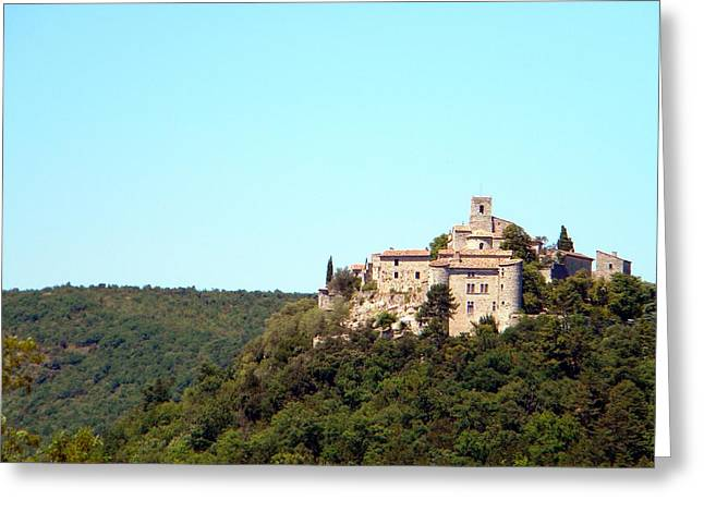 Forgotten Chateau Greeting Card