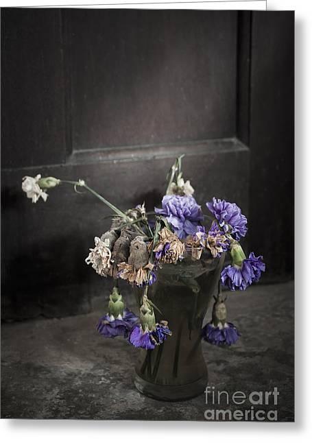 Forgotten Flowers Greeting Card by Svetlana Sewell