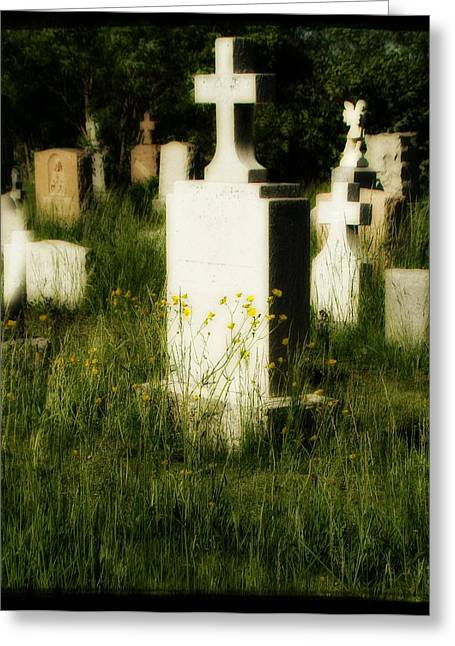 Forgotten Greeting Card by Gothicrow Images