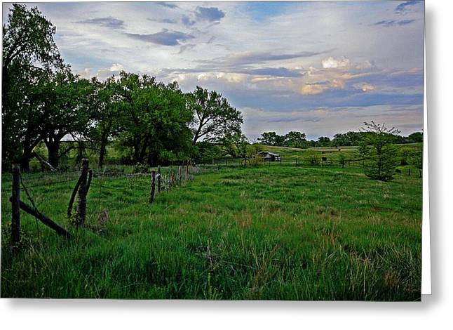 Greeting Card featuring the photograph Forgotten But Not Gone by Shirley Heier