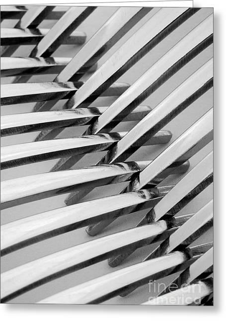Forks I Greeting Card by Natalie Kinnear