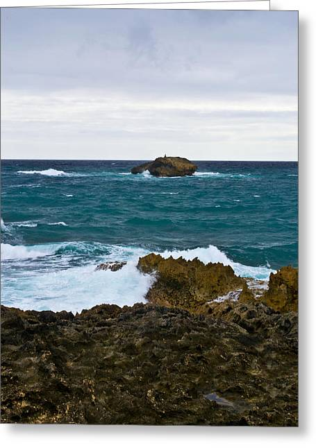 Forlorn Rock Greeting Card by Matt Radcliffe
