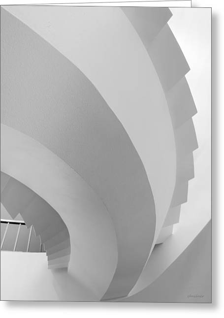 Form And Function - Abstract Greeting Card by Steven Milner