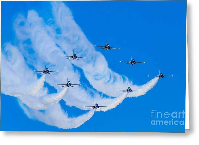 Formation Greeting Card