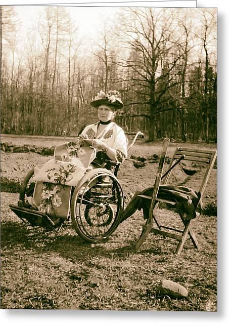 Former Empress Alexandra 1917 Greeting Card