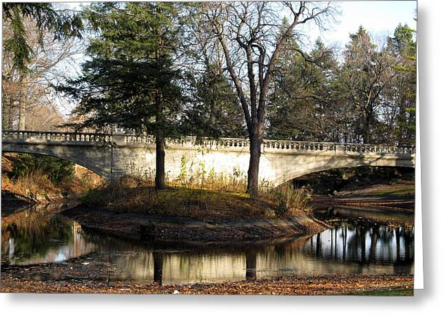 Greeting Card featuring the photograph Forrest Home Bridge by Kimberly Mackowski