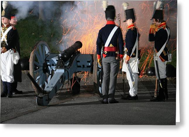 Fort Amherst Canon Greeting Card