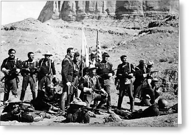 Fort Apache  Greeting Card by Silver Screen
