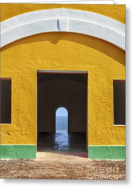 Fort Castillo San Felipe Del Morro Greeting Card