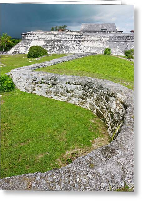 Fort Charlotte, Nassau, Bahamas Greeting Card by Keren Su