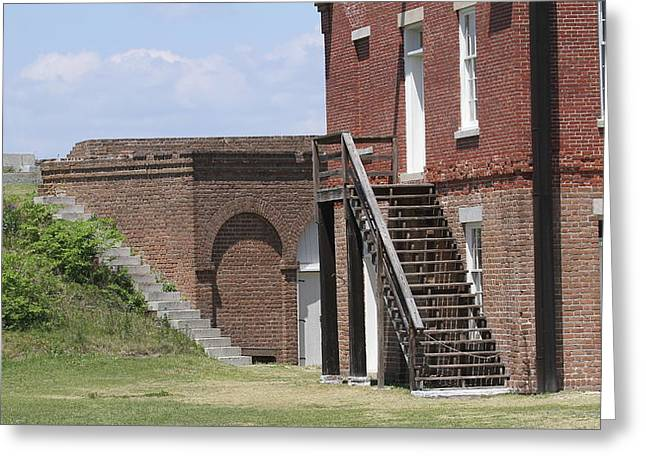 Fort Clinch 3 Greeting Card by Cathy Lindsey