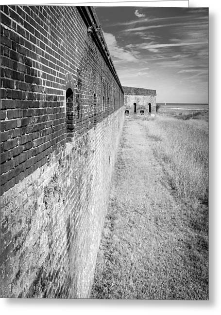 Fort Clinch II Greeting Card by Wade Brooks