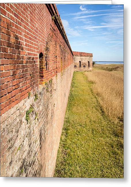Greeting Card featuring the photograph Fort Clinch by Wade Brooks