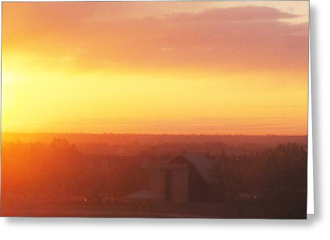 Fort Collins Sunrise Greeting Card by Tammy Sutherland