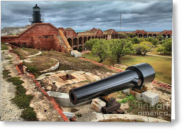 Fort Defense Greeting Card by Adam Jewell