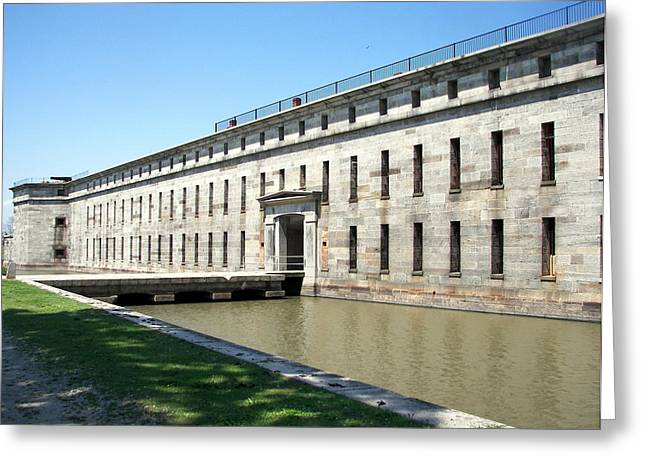 Fort Delaware Sally Port Entrance Greeting Card