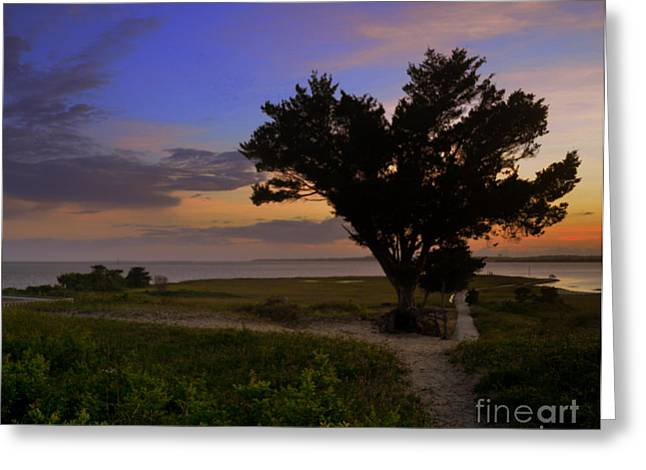 Fort Fisher Sunset  Greeting Card