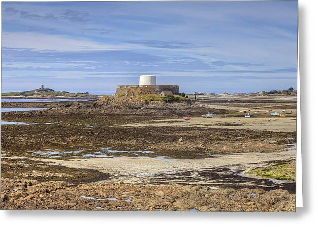 Fort Grey - Guernsey Greeting Card