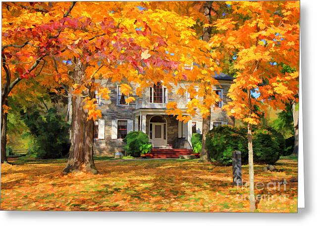 Fort Hunter Autumn Greeting Card