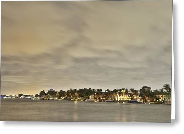 Fort Lauderdale Greeting Card by Christian Heeb