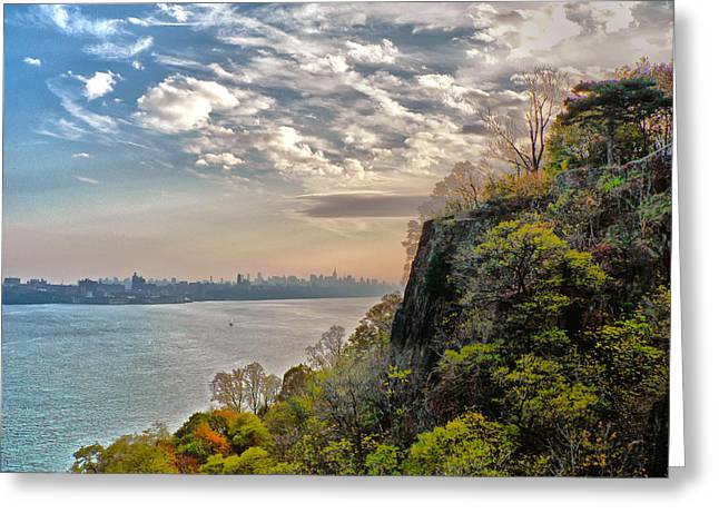 Fort Lee View Greeting Card by Artistic Photos