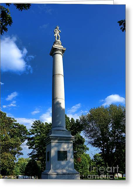 Fort Mercer Monument Greeting Card