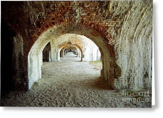 Fort Pickens Arches Greeting Card