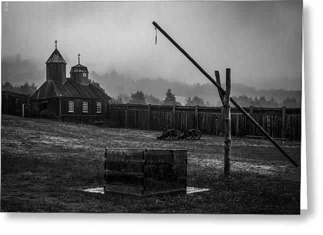Fort Ross Greeting Card