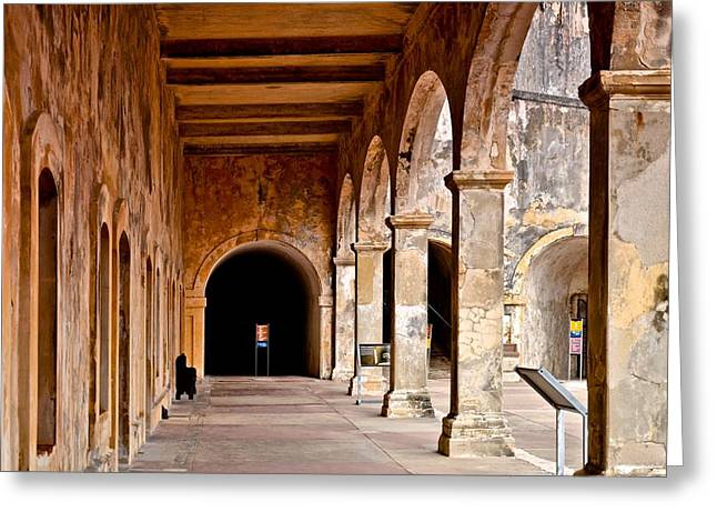 Fort San Cristobal 5 Greeting Card by Ricardo J Ruiz de Porras