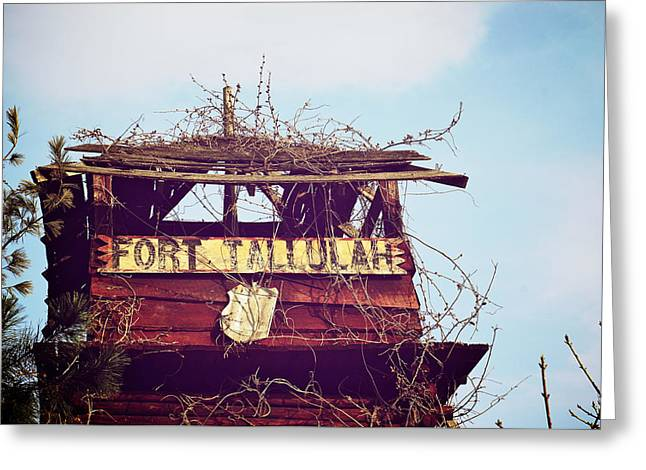 Fort Tallulah Greeting Card