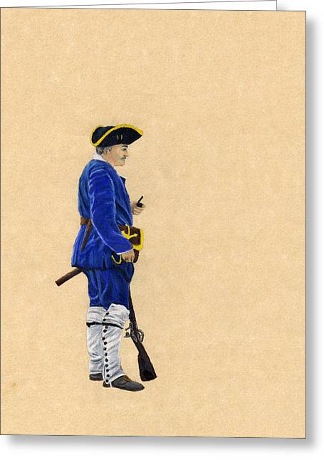 Fort Toulouse Soldier At Ease Greeting Card by Beth Parrish