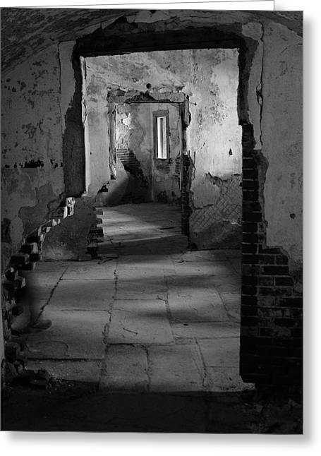 Fort Warren Greeting Card