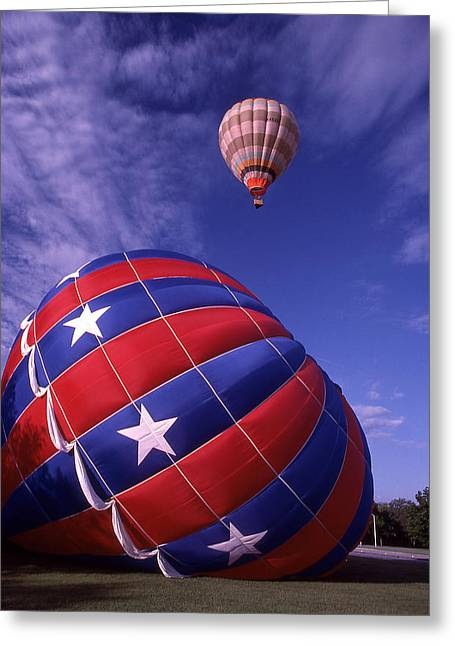 Fort Worth Balloons Greeting Card