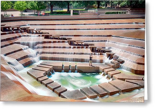 Fort Worth Water Garden V7 Greeting Card