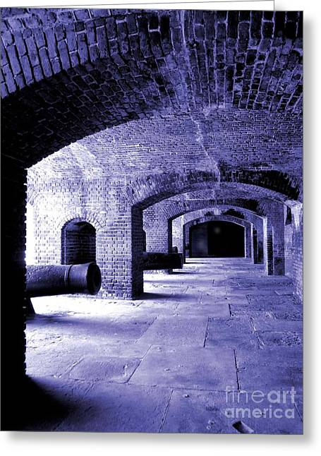 Fort Zachary Taylor2 Greeting Card by Claudette Bujold-Poirier