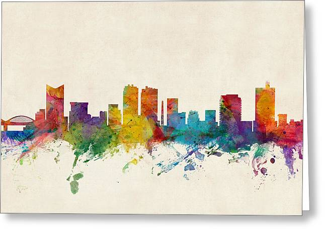 Fort Worth Texas Skyline Greeting Card