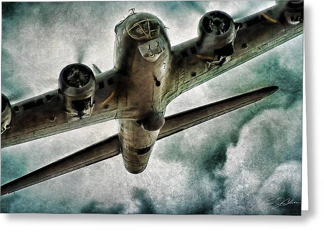 Belles Greeting Cards - Fortress Flyover Greeting Card by Peter Chilelli
