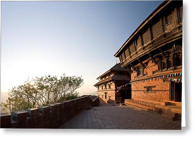 Fortress, Gorkha Durbar, Gorkha, The Greeting Card