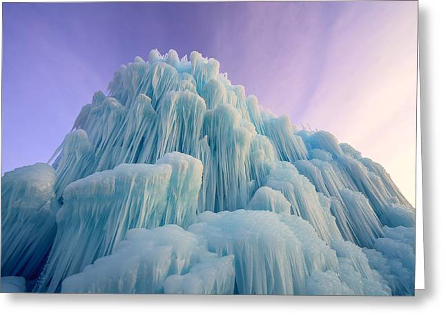 Fortress Of Solitude Greeting Card by Dustin  LeFevre