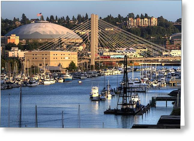 Foss Waterway Tacoma Greeting Card